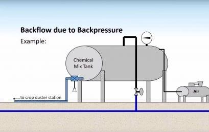 Backflow, Backpressure and Backsiphonage